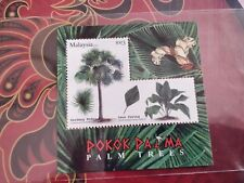 Sales clearance - MS Stamp MNH Pokok Palma Palm Trees