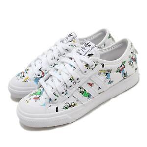 adidas Originals Nizza X Disney Sport Goofy White Men Unisex Casual Shoes FW0645