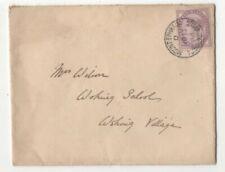 Mount Ephraim Tunbridge Wells 1886 Postmark QV Cover to Woking Village 122c