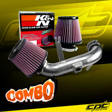 08-13 Lancer 2.0L 4cyl Non-Turbo Polish Cold Air Intake + K&N Air Filter