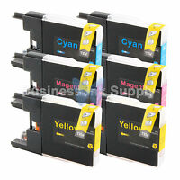 6 COLOR LC75 LC71 Compatible Ink Cartridge for Brother LC-75 LC75C LC75M LC75Y