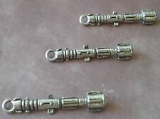 5 Doctor Who 3D Sonic Screwdriver 11th Dr Sonic Screw Driver Charm Pendants BBC