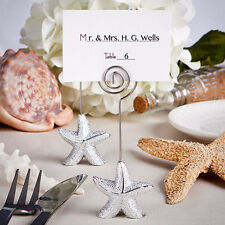 100 Starfish Place Card Holder Beach Theme  Wedding Favors Shower Event Bulk Lot