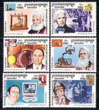 Cambodia 2001 Science/People/Inventors 6v set (n30484)