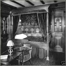 Photo: Titanic's 1st Class Bedroom Suite