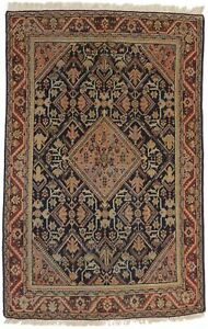 5X7 Vintage Antique Geometric Tribal Handmade Wool Oriental Rug Carpet 4'6X6'6