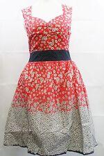 Eucalyptus Spring Summer dress Red size Medium Ladies UK Size 12 Box71 14 L