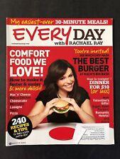 Everyday With Rachael Ray Magazine February 2011  Comfort Food We Love