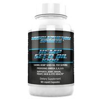 Hemp Seed Oil capsules 1000mg 60 capsules Immune System Booster