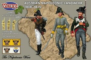 VICTRIX ~ NAPOLEONIC ~ AUSTRIAN LANDWEHR ~ NEW ~ UNOPENED