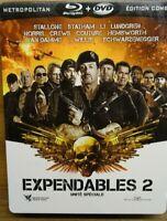 Expendables 2 | Stallone Statham Li | 2012 *VF *SteelBook * Blu-Ray+DVD *TBE