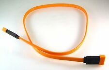 """MSI COMAX K1D-1008002-C13 Orange Serial ATA SATA Cable 24"""" 60cm 2 pieces MBH013c"""