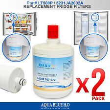2 x Replacement LG LT500P ADQ72910901 5231JA2002A-S Ice & Water Fridge Filter