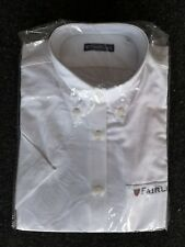 Deluxe Fairline Oxford Long Sleeve Shirt with logo Size 14 - rrp £39.99