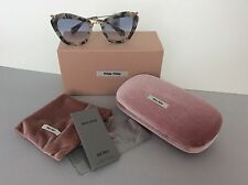 New  Miu Miu Yellow Havana 10 NS  Sunglasses