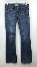Taverniti Womens Jeans Fitted Whiskered Size 25