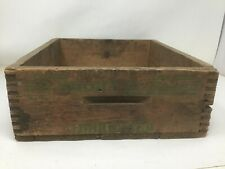Vintage Remington 22 Short Hi Speed Dovetail Wood Crate Hunting, Shooting