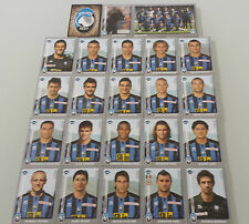 FIGURINE CALCIATORI PANINI 2008-09 SQUADRA ATALANTA CALCIO FOOTBALL ALBUM