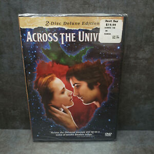 Across the Universe (DVD, 2008, 2-Disc Deluxe Edition Widescreen) NEW, SEALED