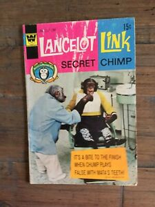 Lancelot Link (1971) # 4 VG. Variant Whitman Cover! Photo Cover