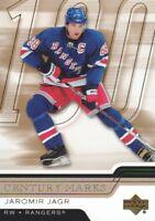 2006-07 Upper Deck Hockey Century Marks #CM-4 Jaromir Jagr New York Rangers