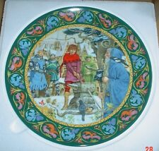 Wedgwood Collectors Plate ARTHUR DRAWS THE SWORD - LEGEND OF KING ARTHUR