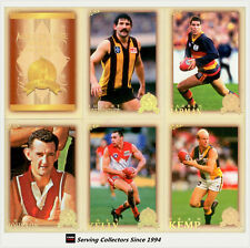 2012 AFL Hall Of Fame Series 4 Trading Cards Set(33)+ Official Album + 5 Pages