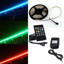 RV LED Camper Awning Boat Light Set w/IR Remote Music  RGB 16' 3528 Waterproof