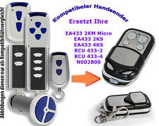 433 Mhz Handsender kompatibel zu Normstahl Garagentor EA433 2KS 2KM T433 RCU433