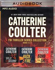 Catherine Coulter FBI Thriller Collection Books 15-17 Unabridged MP3 Audio Books