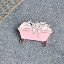 Enamel Animal Cat Brooch Pins Shirt Collar Pin Breastpin Women Jewelry Gif FBCA