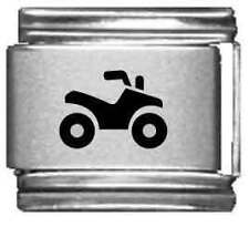 Clearly Charming ATV Laser Italian Charm