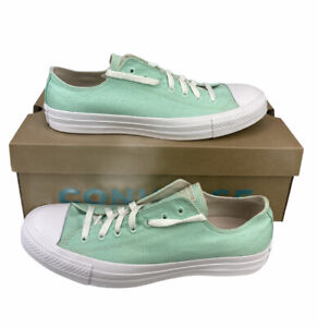 NEW Converse Chuck Taylor All Star Ox Renew Mint Green White Shoes Mens Size 11