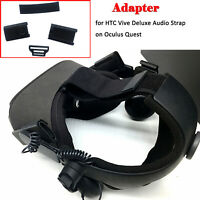 3D Printing Plastic Adapter Set for HTC Vive Deluxe Audio Strap on Oculus Quest