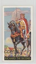 1936 Godfrey Phillips Famous Minors Tobacco Base #19 Richard II Card z6d