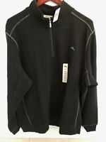 TOMMY BAHAMA MENS ANTIGUA HALF ZIP SWEATER MANY COLOR XL 2XL 3XL NWT $100