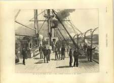 1875 Starboard Quarter Deck Of The Serapis, Royal India Visit