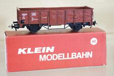 KLEIN MODELLBAHN 3085 DB OFFENER GÜTERWAGEN STEEL SIDED MINERAL WAGON 606-2 ni