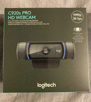Logitech C920s Pro HD 1080p Webcam with Privacy Shutter IN STOCK SHIPPING ASAP