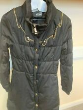 Love Moschino Womens Quilted Puffer Coat Black, used, size 8