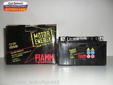 Batteria FIAMM FTX7A-BS Motor Energy AGM 6Ah 12V ITALJET KYMCO SUZUKI SYM YAMAHA