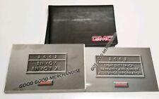 2002 GMC ENVOY OWNERS MANUAL USER GUIDE 4WD 2WD V6 4.2L SLE SLT SPORT UTILITY