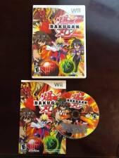 Bakugan Battle Brawlers (Nintendo Wii, 2009) - COMPLETE