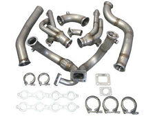 Turbo Manifold Header Downpipe Kit For 98-02 Chevrolet Camaro LS1 Motor NA-T