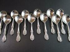 1* Old Mark Pat Da Reed Barton Francis I Sterling Flatware Cream Soup Spoon Excl