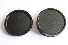 Leica R Objektiv Rückdeckel & Gehäuse Deckel,Kappe,Rear Lens & Body Cap  LEICA R