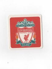 LIVERPOOL F.C. Pack of Official Beer Mats / Coasters Red FREE POST UK