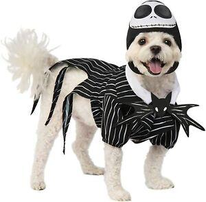 Nightmare Before Christmas Dog Costume - SMALL - Jack Skellington - Rubie's NWT