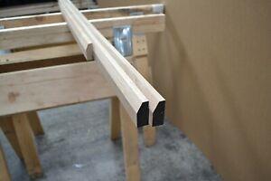 Solid Oak Architrave Set - 20x45mm Chamfer Profile