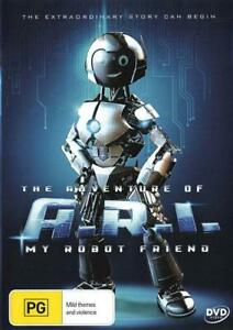 The Adventures of A.R.I.: My Robot Friend - DVD (NEW & SEALED)
